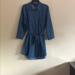 Blu Pepper Denim Dress
